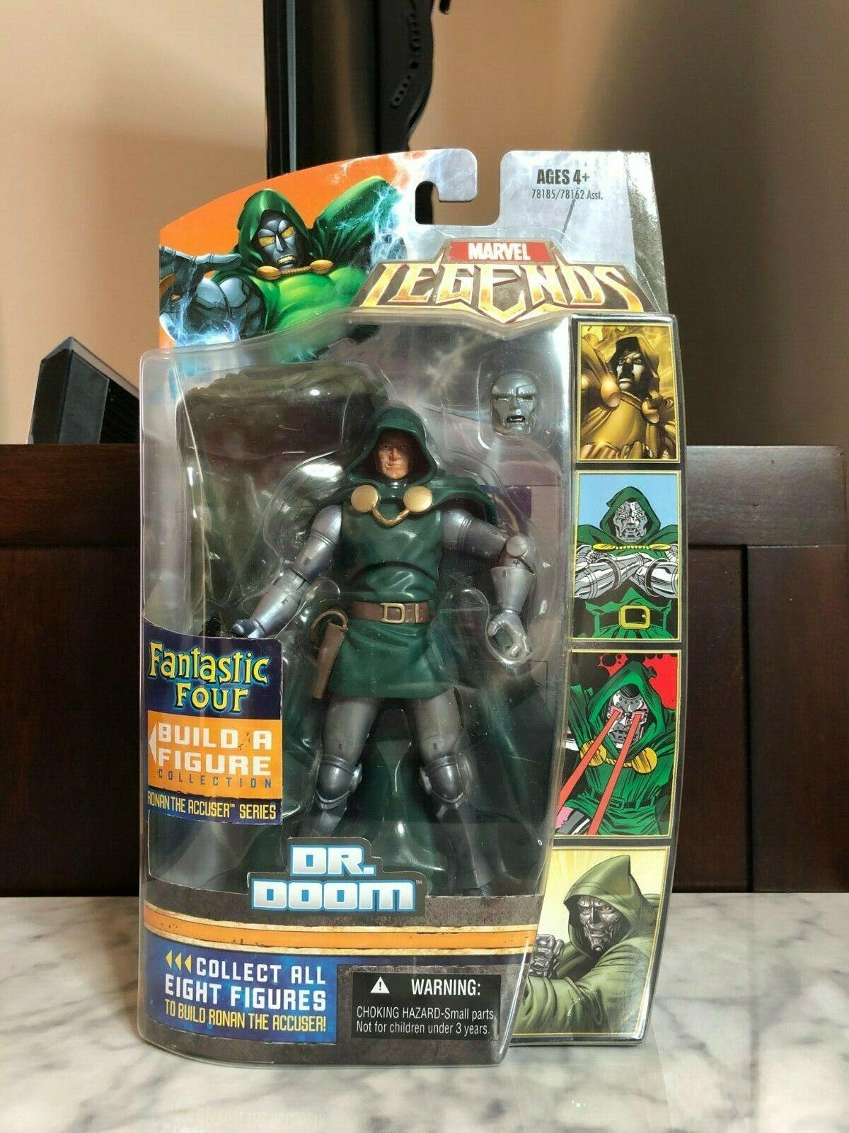 Toy Biz Marvel Legends Ronan the Accuser Series Dr. Doom NEW and SEALED