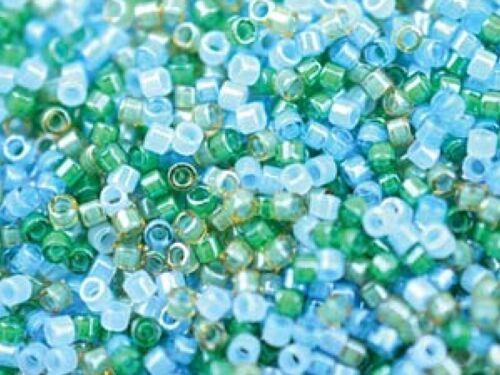 perles de rocaille Miyuki Delica Japonais 1.6 mm 10 G 11//0 Choisissez Couleur