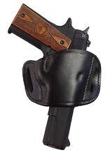 Pro-Tech Black Leather Gun Holster for Ruger SR22 Right Hand Belt Slide Style