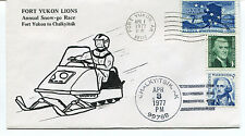 1977 Fort Youkon Lions Snow-go Race Chalkyitsik Polar Antarctic Cover
