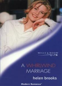A Whirlwind Marriage (Mills & Boon Modern) By Helen Brooks
