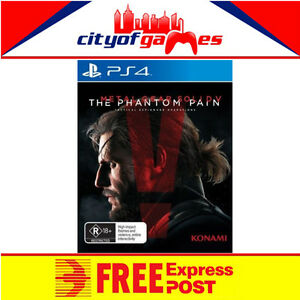 METAL GEAR Solid 5  V The Phantom Pain Day 1 Edition PS4