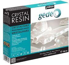 Pebeo Gedeo cristallo resina trasparente resina epossidica trasparente per CASTING 750 ml PEBEO