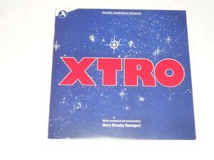 XTRO-1983-Blue-Swirl-Soundtrack-Harry-Bromley-Davenport-Mint-Sealed-NEW