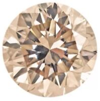 .025ct Natural Loose Brilliant Round Diamond Si2 Champagne 1.9mm Melee Lot