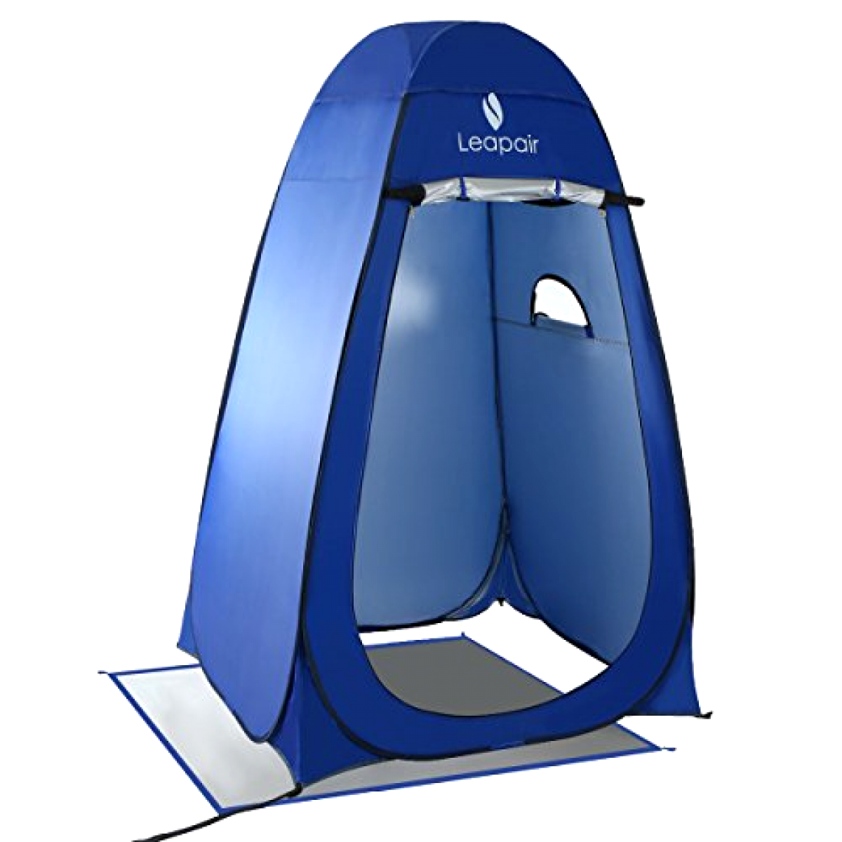 Portable Camping Pop Up Tents Changing Dressing Room Outdoor Privacy Blau, New