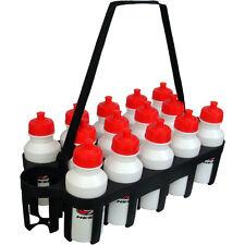 14 Water Bottles & Carrier Set Sports Team Equipment Hockey Soccer Lacrosse New
