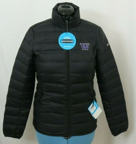 NEW Washington Huskies 650 Columbia Lake 22 Embroidered Jacket Women/'s S