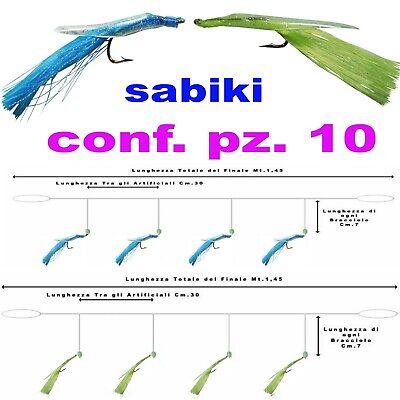 Other Fishing Rods Bright Sabiki Pesca Mare Sgombri Lanzardi Sugherelli Lenza Bolentino Traina Artificiale Fine Workmanship Fishing