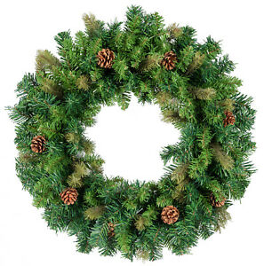 image is loading 24 034 christmas wreath door wall window ornament