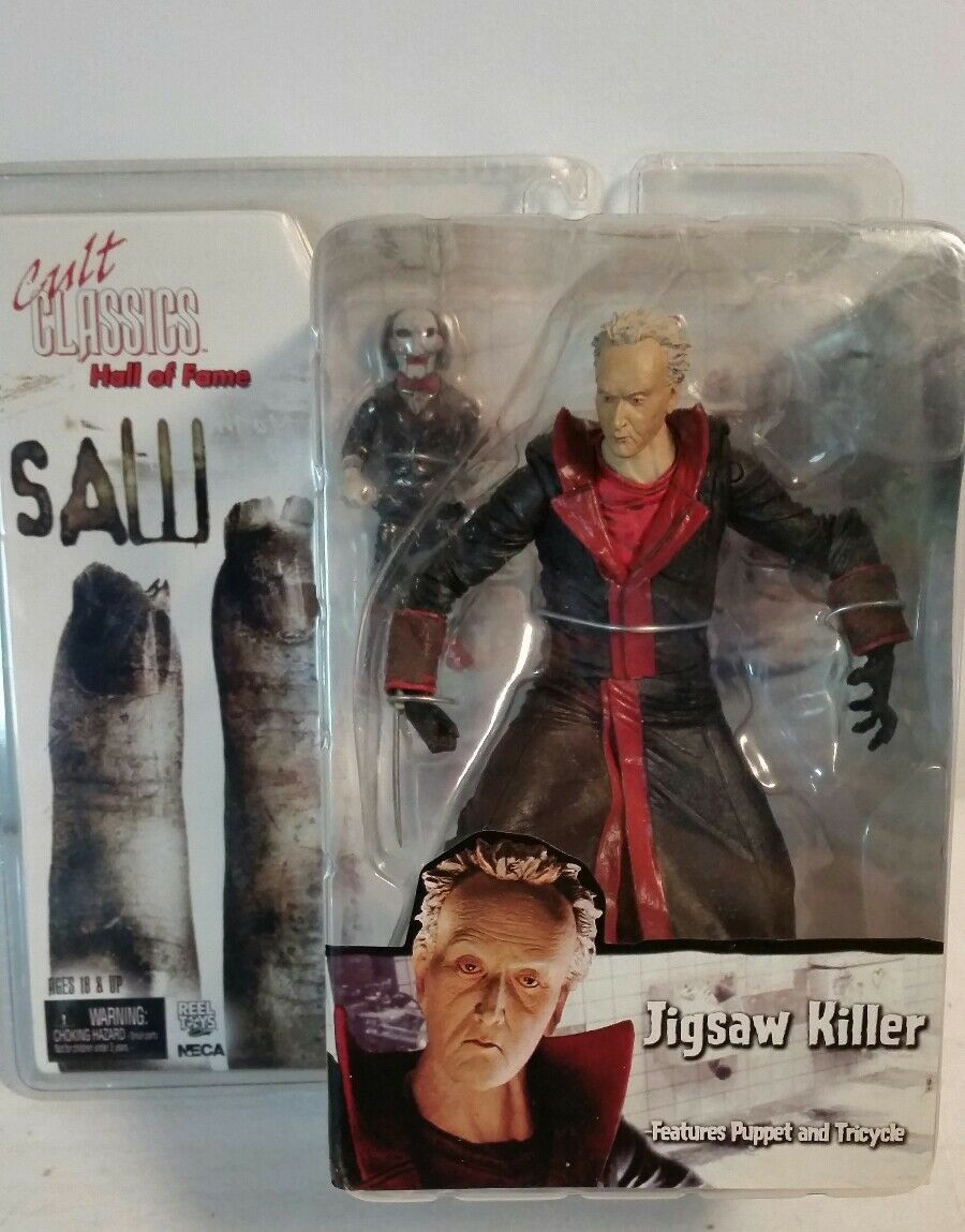 SAW - Jigsaw Killer Hall Of Fame Cult Classics Figure Action Figure by NECA Toys