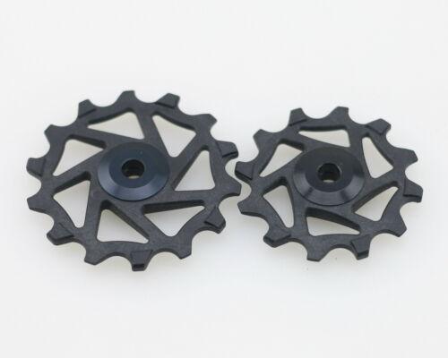 J/&L 12T/&14T Ceramic Derailleur Pulley//Jockey Fit SRAM XX1,X0,X1,GX,NX,X9,XX,X01