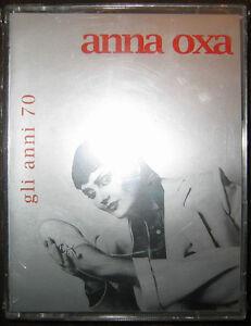 2CASSETTES TAPE MC ANNA OXA Gli anni 70 (Bmg 98) Italian pop tape SEALED!