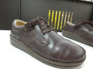 Finn-Comfort-Prophylaxe-Her-Chaussures-a-Lacets-Cuir-Braun-Allemagne-Gr-41-Neuf