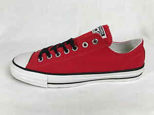 edaa4511d199 Converse Mens Chuck Taylor All Star Pro OX Red Low Top Fits Women ...