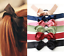 Band 9 Colours NEW Beautiful Large Satin Ribbon Bow Hair Tie UK Seller