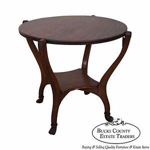 Image Is Loading Hunzinger Antique Oak Flip Top Game Table