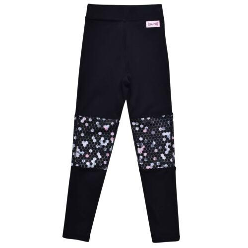 USA Pro Kids Girls Little Mix Panel Tights Junior Performance Pants Trousers