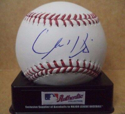 Autographs-original Cameron Hill Cleveland Indians Signed Autographed Romlb Ml Baseball W/coa Big Clearance Sale