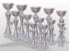 12er Pokalserie Pokale Skylon mit Gravur und Emblem günstig kaufen Pokale silber