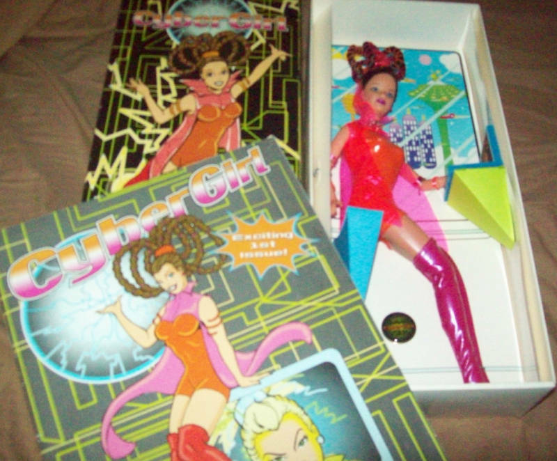 Gaw Y2k Cyber Girl Convenio Barbie & Comic Mib
