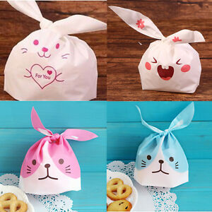 50 pcs easter rabbit bunny presentation bags party birthday sweets image is loading 50 pcs easter rabbit bunny presentation bags party negle Image collections