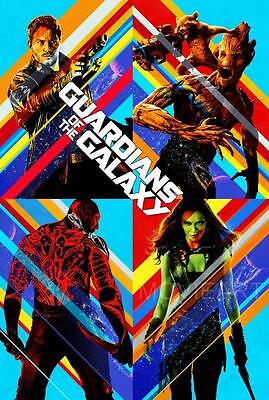 GUARDIANS OF THE GALAXY STAR WARS MOVIE POSTER FILM A4 A3 ART PRINT CINEMA