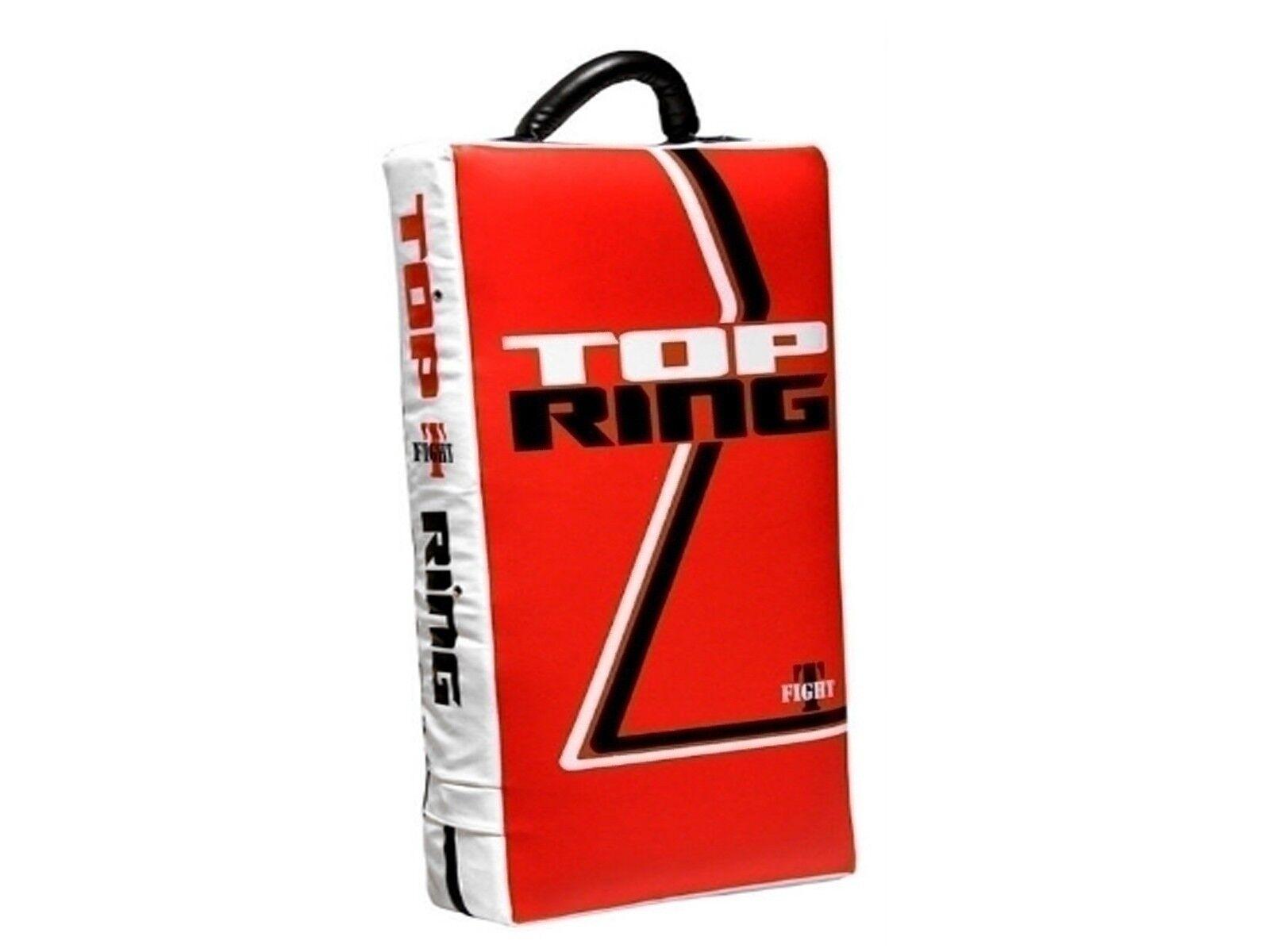 RETTANGOLARE 75X35X15 CM  TOP RING  438 SCUDO DRITTO GRANDE BIANCO/ROSSO