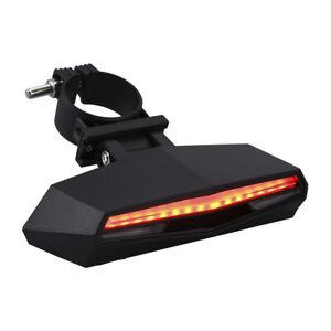 Velo-Velo-Feu-Arriere-Telecommande-Clignotant-Etanche-Clignotant-Lampe-USB