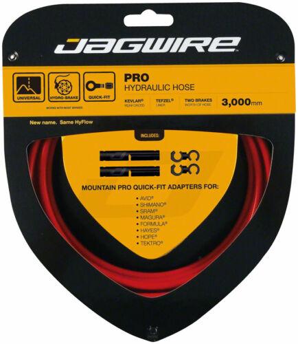 Jagwire Pro Frein Hydraulique Tuyau Kit 3000 mm rouge