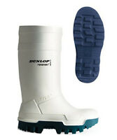 Dunlop Purofort White Thermal Thermo -40 Insulation Safety Wellingtons Uk5-13