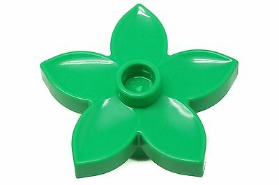 8 Lego Duplo Item Flowers Green