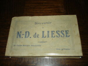 SOUVENIR-DE-N-D-DE-LIESSE-25-Cartes-Postales-detachables-Aisne