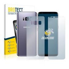 Panzerfolie Samsung Galaxy S8 (Vorder + Rückseite) Schutzpanzer Glasfolie