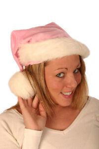 PINK-SANTA-XMAS-PLUSH-HAT-WITH-WHITE-FUR-TRIM-45cm