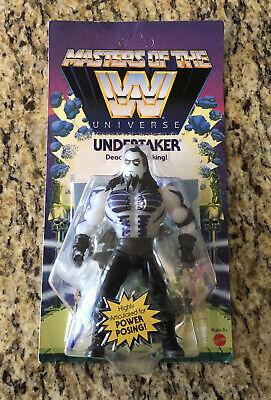 Masters of the WWE Universe UNDERTAKER Glow in the Dark NEW 2020 Mattel