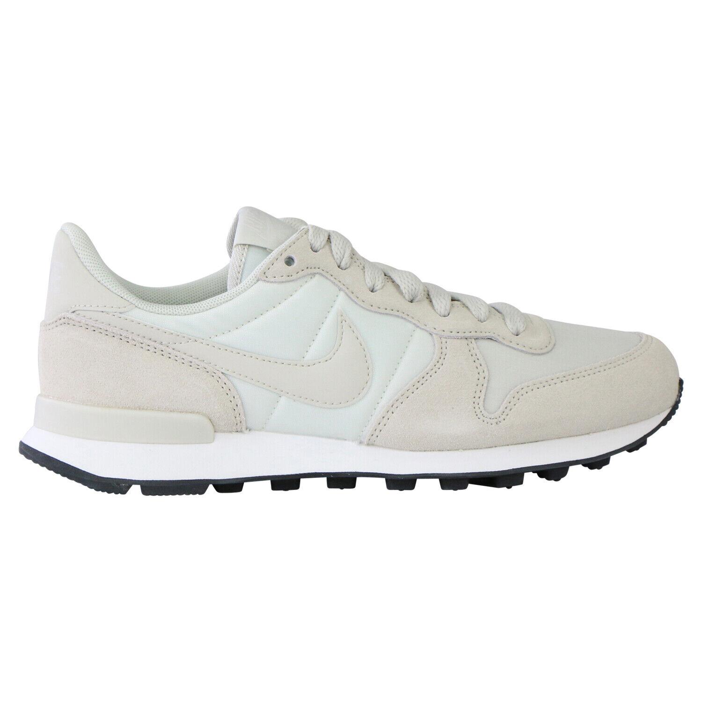 Nike Internationalist Turnschuhe Schuhe Hellgrau Damen 828407 032