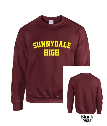 Sunnydale High School Adult Crewneck Sweatshirt Buffy Style SHS