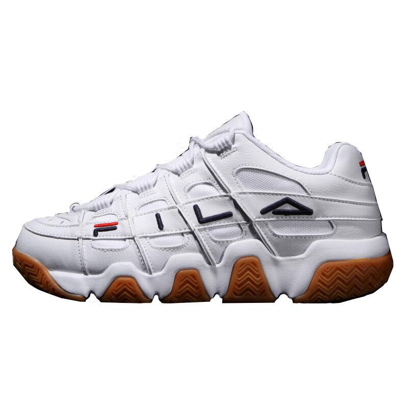 New FILA Barricade XT Low Athletic Athletic Athletic scarpe da ginnastica scarpe - bianca Marronee(FS1HTB1056X) 39544f