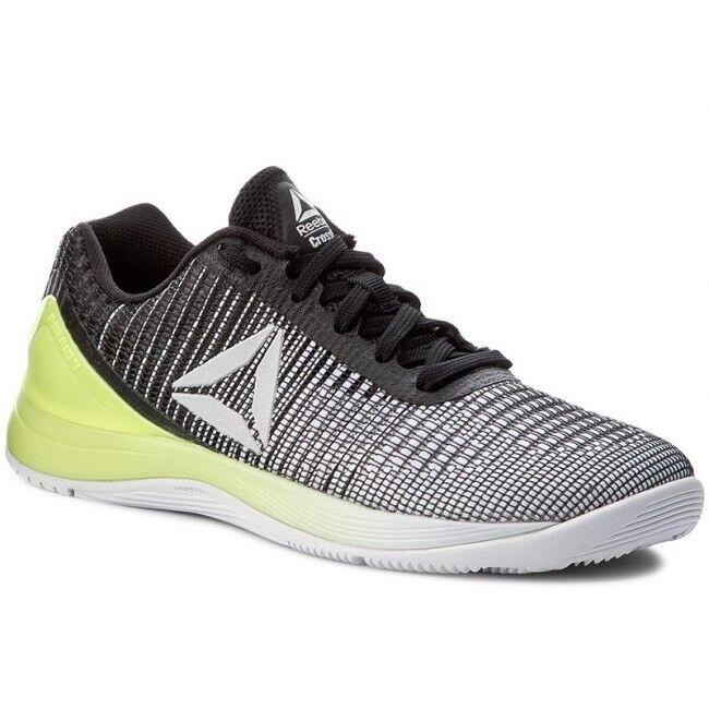 Reebok Crossfit Nano 7 Electric Flash Negro Negro Negro Zapatos de entrenamiento para mujer Talla 7 EE. UU.  Envío rápido y el mejor servicio