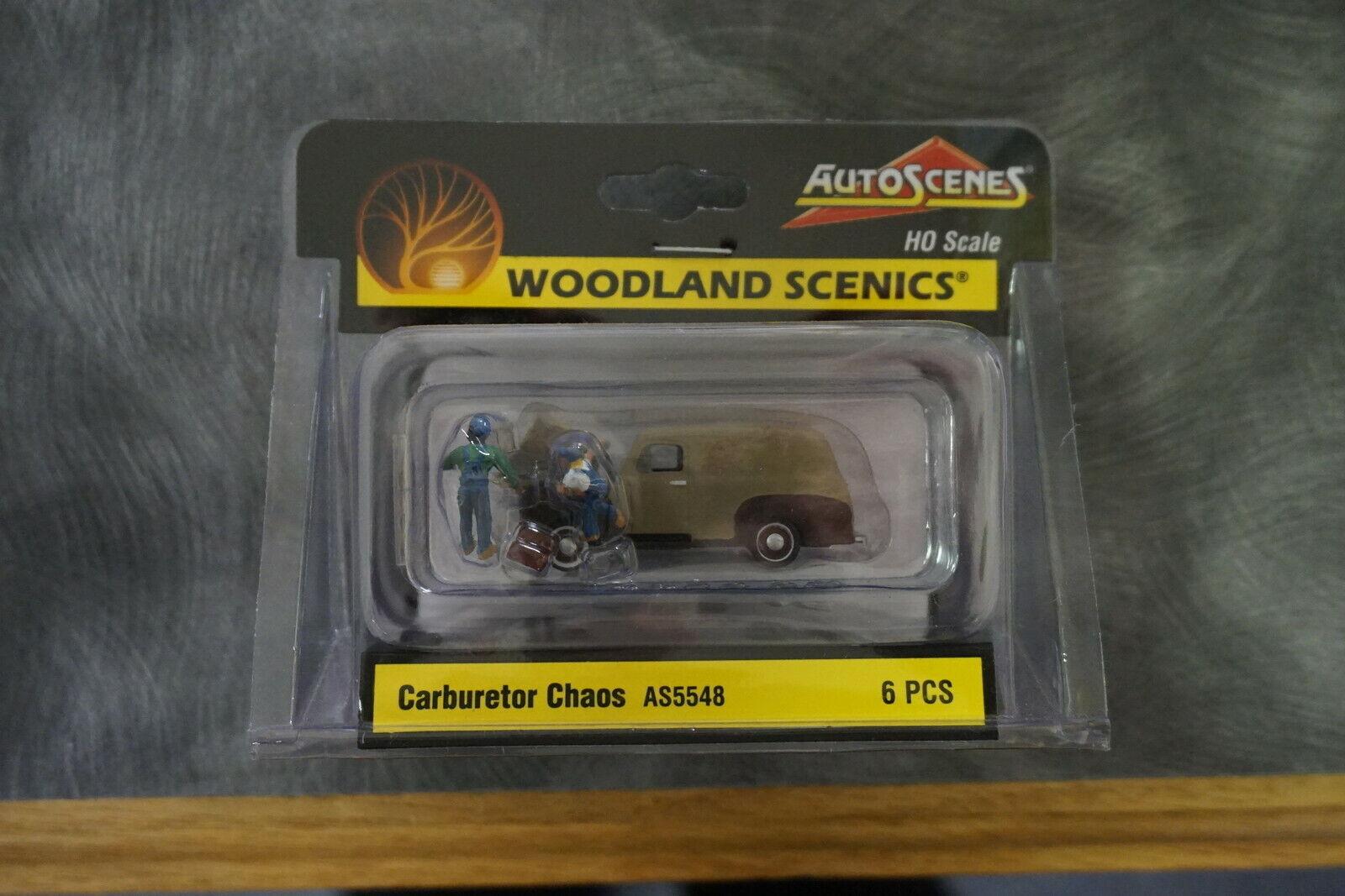 Carburetor Chaos HO Scale Woodland Scenics