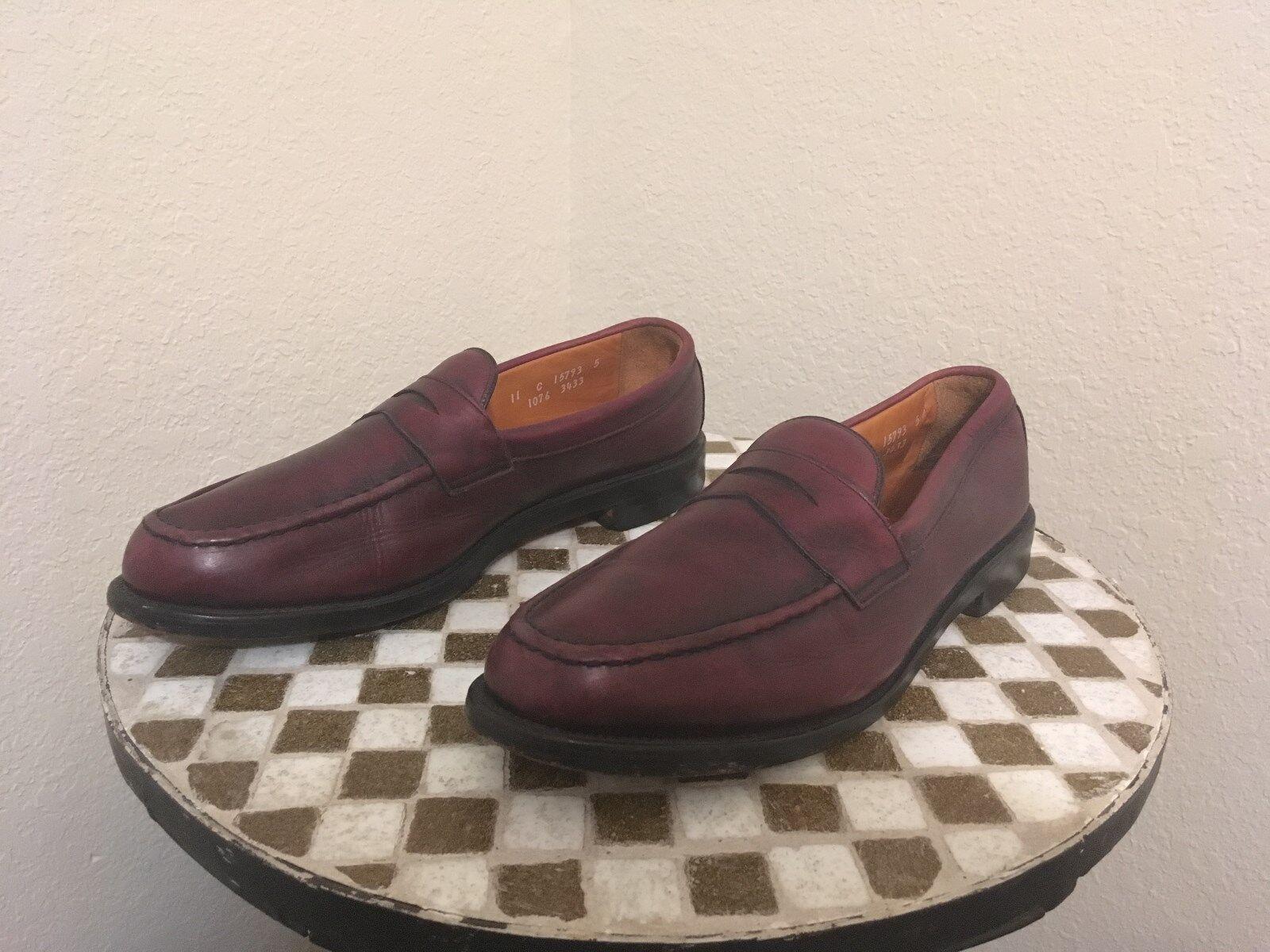 OXBLOOD COLE ALLEN EDMONDS USA BUSINESS CASUAL SHOES 11 C Scarpe classiche da uomo
