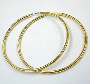 ECHT-GOLD-Grosse-Creolen-Ohrringe-40-mm