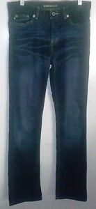 5-6-EXPRESS-X-Logo-Blue-JEANS-Dark-Regular-29-034-Waist-30-034-Inseam-Denim-Pants