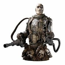 Terminator Salvation T-600 Endoskeleton mini bust~Schwarzenegger~statue~NIB