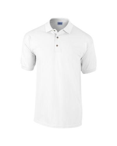 Gildan Ultra Cotton™ combed ringspun adult pique polo T Shirt Casual Tee Top