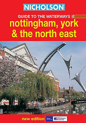Ordnance Survey, Nottingham, York & the North East (Nicholson Guide to the Water