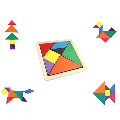 LC_ GN- BA _BOIS TANGRAM casse-tête puzzle éducatif développemental enfant T