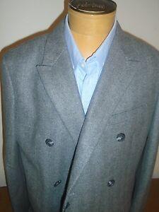 Jack-Spade-Kempton-Wool-Blend-Charcoal-Gray-Herringbone-Topcoat-NWT-46-998