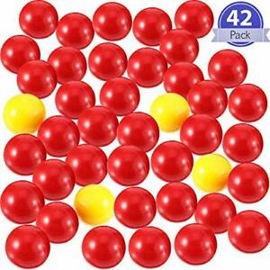 42-Pieces-Game-Replacement-Marbles-2-Sets-Game-Replacement-Balls-Compatible-NEW